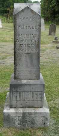 PLUMLEE, ISAAC - Boone County, Arkansas | ISAAC PLUMLEE - Arkansas Gravestone Photos