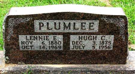 PLUMLEE, HUGH C - Boone County, Arkansas | HUGH C PLUMLEE - Arkansas Gravestone Photos