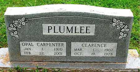 CARPENTER PLUMLEE, OPAL - Boone County, Arkansas   OPAL CARPENTER PLUMLEE - Arkansas Gravestone Photos