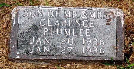 PLUMLEE, SON - Boone County, Arkansas | SON PLUMLEE - Arkansas Gravestone Photos