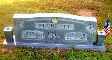 PLUNKETT, J.  KENNETH - Boone County, Arkansas   J.  KENNETH PLUNKETT - Arkansas Gravestone Photos
