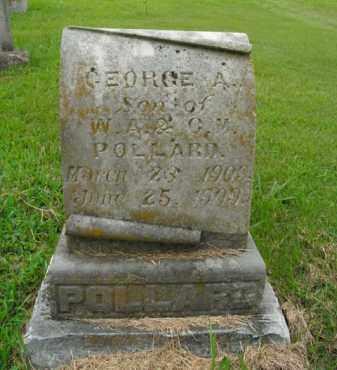 POLLARD, GEORGE A. - Boone County, Arkansas | GEORGE A. POLLARD - Arkansas Gravestone Photos