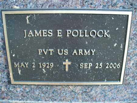 POLLOCK  (VETERAN), JAMES E - Boone County, Arkansas | JAMES E POLLOCK  (VETERAN) - Arkansas Gravestone Photos