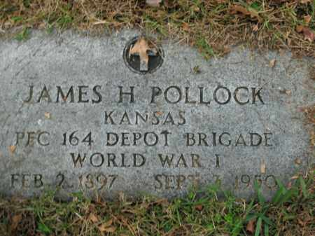 POLLOCK  (VETERAN WWI), JAMES H - Boone County, Arkansas | JAMES H POLLOCK  (VETERAN WWI) - Arkansas Gravestone Photos