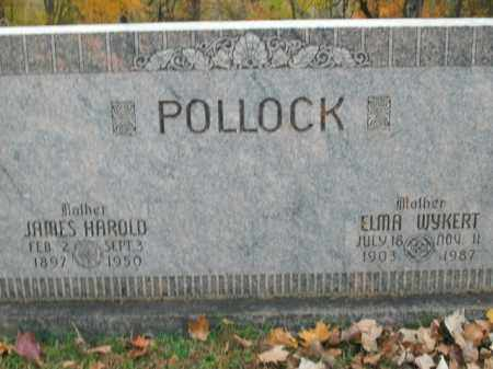 POLLOCK, JAMES HAROLD - Boone County, Arkansas | JAMES HAROLD POLLOCK - Arkansas Gravestone Photos
