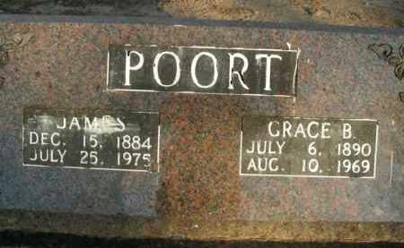 POORT, GRACE B. - Boone County, Arkansas | GRACE B. POORT - Arkansas Gravestone Photos
