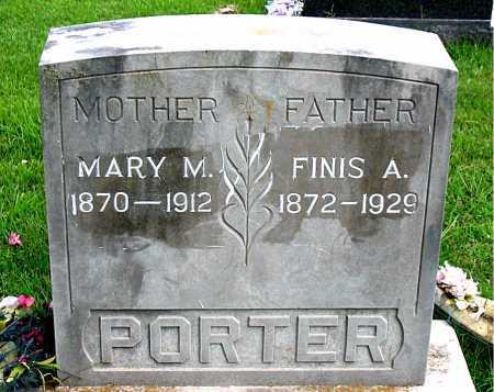 PORTER, FINIS A.. - Boone County, Arkansas   FINIS A.. PORTER - Arkansas Gravestone Photos