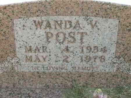 POST, WANDA V. - Boone County, Arkansas | WANDA V. POST - Arkansas Gravestone Photos