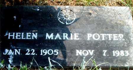 POTTER, HELEN MARIE - Boone County, Arkansas | HELEN MARIE POTTER - Arkansas Gravestone Photos