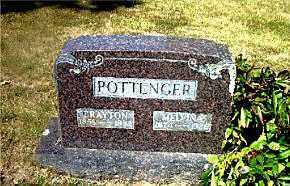 POTTENGER, CRAYTON - Boone County, Arkansas | CRAYTON POTTENGER - Arkansas Gravestone Photos
