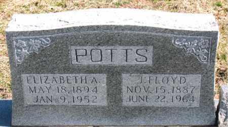 POTTS, J. FLOYD - Boone County, Arkansas | J. FLOYD POTTS - Arkansas Gravestone Photos