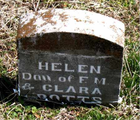 POTTS, HELEN - Boone County, Arkansas | HELEN POTTS - Arkansas Gravestone Photos