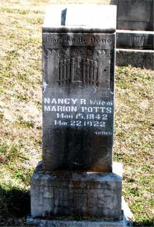 POTTS, NANCY R. - Boone County, Arkansas | NANCY R. POTTS - Arkansas Gravestone Photos