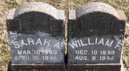 POTTS, SARAH ANN - Boone County, Arkansas | SARAH ANN POTTS - Arkansas Gravestone Photos