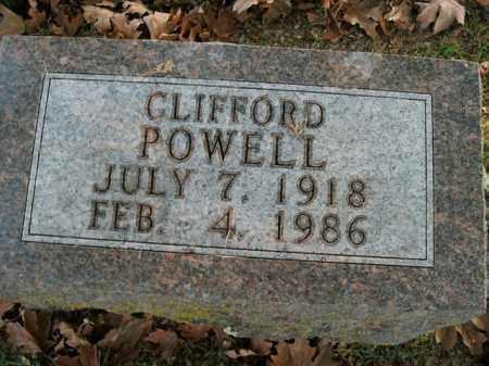 POWELL, CLIFFORD - Boone County, Arkansas | CLIFFORD POWELL - Arkansas Gravestone Photos