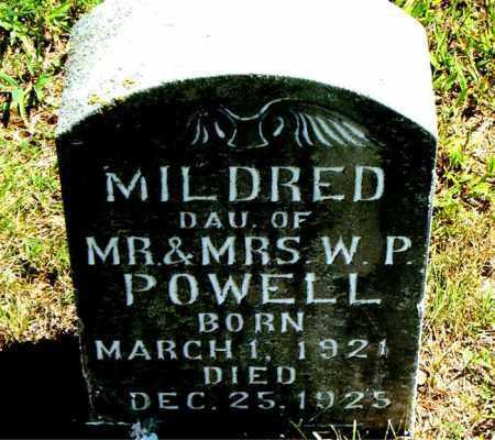 POWELL, MILDRED - Boone County, Arkansas | MILDRED POWELL - Arkansas Gravestone Photos