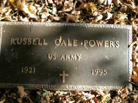 POWERS  (VETERAN), RUSSELL GALE - Boone County, Arkansas | RUSSELL GALE POWERS  (VETERAN) - Arkansas Gravestone Photos