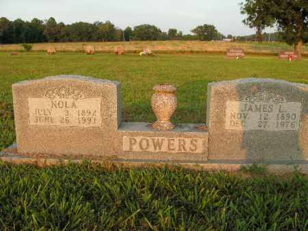 POWERS, NOLA - Boone County, Arkansas | NOLA POWERS - Arkansas Gravestone Photos