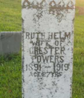 POWERS, RUTH - Boone County, Arkansas | RUTH POWERS - Arkansas Gravestone Photos