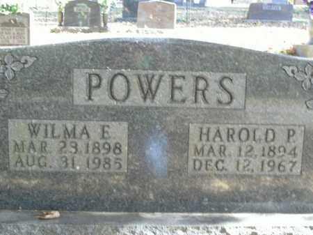 POWERS, WILMA E. - Boone County, Arkansas | WILMA E. POWERS - Arkansas Gravestone Photos