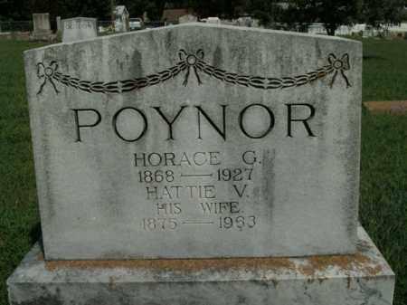 POYNOR, HORACE G. - Boone County, Arkansas | HORACE G. POYNOR - Arkansas Gravestone Photos