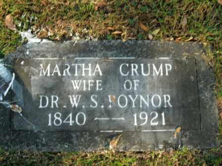 POYNER, MARTHA - Boone County, Arkansas   MARTHA POYNER - Arkansas Gravestone Photos