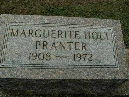 HOLT PRANTER, MARGUERITE - Boone County, Arkansas | MARGUERITE HOLT PRANTER - Arkansas Gravestone Photos