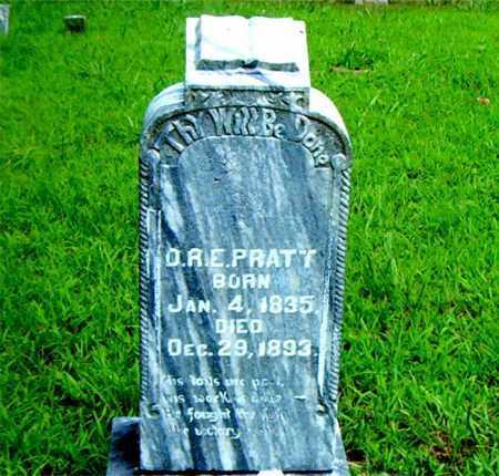 PRATT, O. R. E. - Boone County, Arkansas   O. R. E. PRATT - Arkansas Gravestone Photos