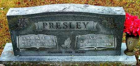 PRESLEY, INA J. - Boone County, Arkansas | INA J. PRESLEY - Arkansas Gravestone Photos