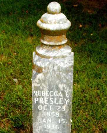 PRESLEY, REBECCA E. - Boone County, Arkansas   REBECCA E. PRESLEY - Arkansas Gravestone Photos