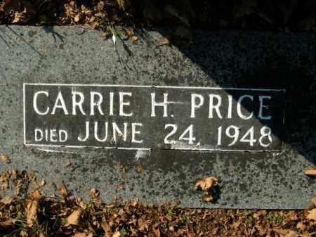 PRICE, CARRIE H. - Boone County, Arkansas | CARRIE H. PRICE - Arkansas Gravestone Photos
