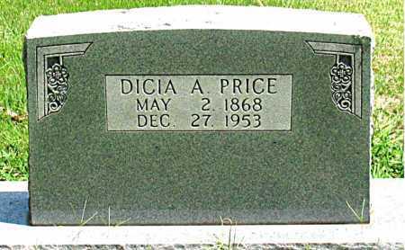 PRICE, DICIA ANN - Boone County, Arkansas | DICIA ANN PRICE - Arkansas Gravestone Photos