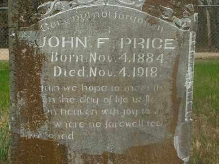 PRICE, JOHN F. - Boone County, Arkansas | JOHN F. PRICE - Arkansas Gravestone Photos