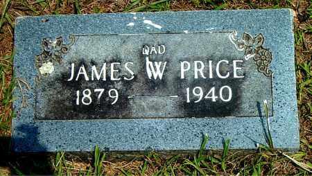 PRICE, JAMES  W. - Boone County, Arkansas   JAMES  W. PRICE - Arkansas Gravestone Photos