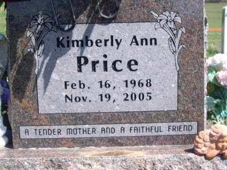PRICE, KIMBERLY ANN - Boone County, Arkansas | KIMBERLY ANN PRICE - Arkansas Gravestone Photos