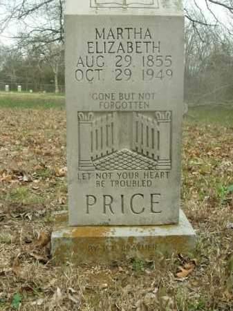 PRICE, MARTHA ELIZABETH - Boone County, Arkansas | MARTHA ELIZABETH PRICE - Arkansas Gravestone Photos