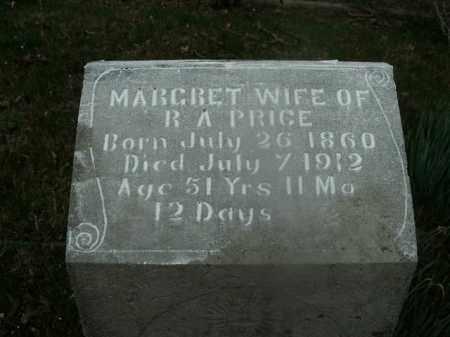PRICE, MARGRET - Boone County, Arkansas | MARGRET PRICE - Arkansas Gravestone Photos