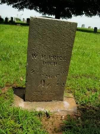 PRICE, W. H. - Boone County, Arkansas   W. H. PRICE - Arkansas Gravestone Photos