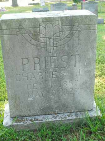PRIEST, CHARLES J. - Boone County, Arkansas   CHARLES J. PRIEST - Arkansas Gravestone Photos