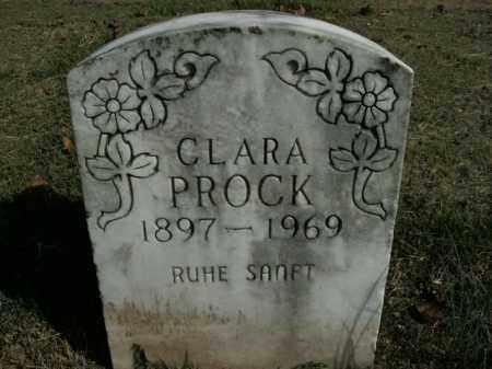 PROCK, CLARA - Boone County, Arkansas | CLARA PROCK - Arkansas Gravestone Photos