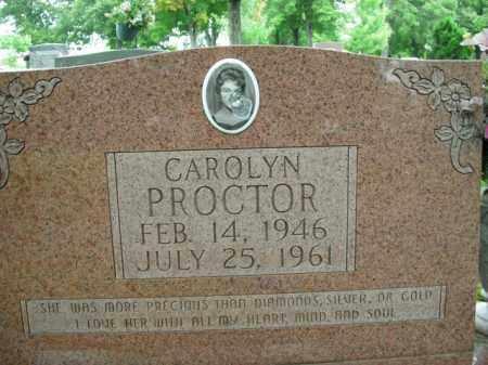 PROCTOR, CAROLYN - Boone County, Arkansas | CAROLYN PROCTOR - Arkansas Gravestone Photos