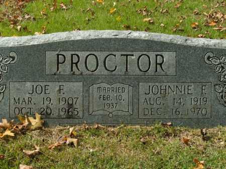 PROCTOR, JOE F. - Boone County, Arkansas | JOE F. PROCTOR - Arkansas Gravestone Photos