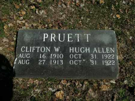 PRUETT, CLIFTON W. - Boone County, Arkansas | CLIFTON W. PRUETT - Arkansas Gravestone Photos