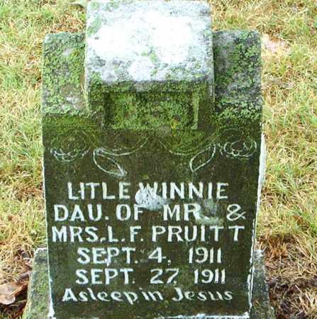 PRUITT, WINNIE - Boone County, Arkansas   WINNIE PRUITT - Arkansas Gravestone Photos