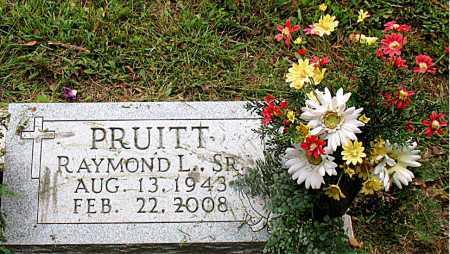 PRUITT, SR, RAYMOND L. - Boone County, Arkansas   RAYMOND L. PRUITT, SR - Arkansas Gravestone Photos