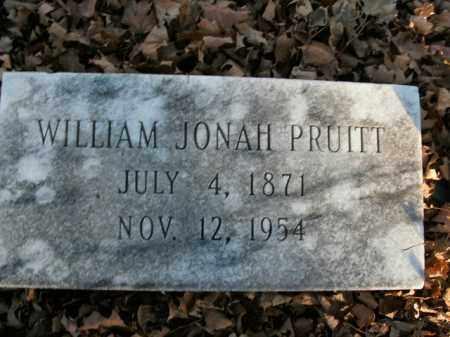 PRUITT, WILLIAM JONAH - Boone County, Arkansas   WILLIAM JONAH PRUITT - Arkansas Gravestone Photos