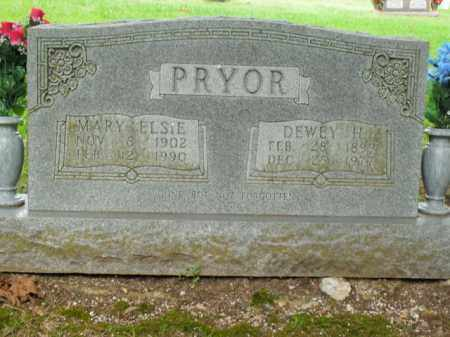PRYOR, DEWEY H. - Boone County, Arkansas | DEWEY H. PRYOR - Arkansas Gravestone Photos