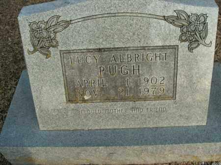 PUGH, LUCY - Boone County, Arkansas | LUCY PUGH - Arkansas Gravestone Photos