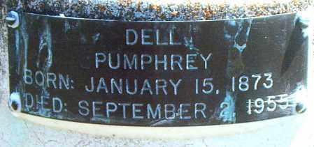 PUMPHREY, DELL - Boone County, Arkansas | DELL PUMPHREY - Arkansas Gravestone Photos