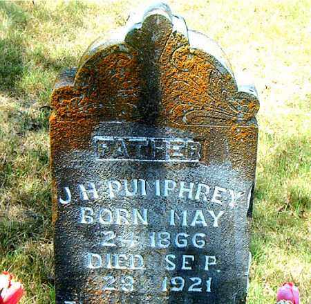 PUMPHREY, J. H. - Boone County, Arkansas | J. H. PUMPHREY - Arkansas Gravestone Photos
